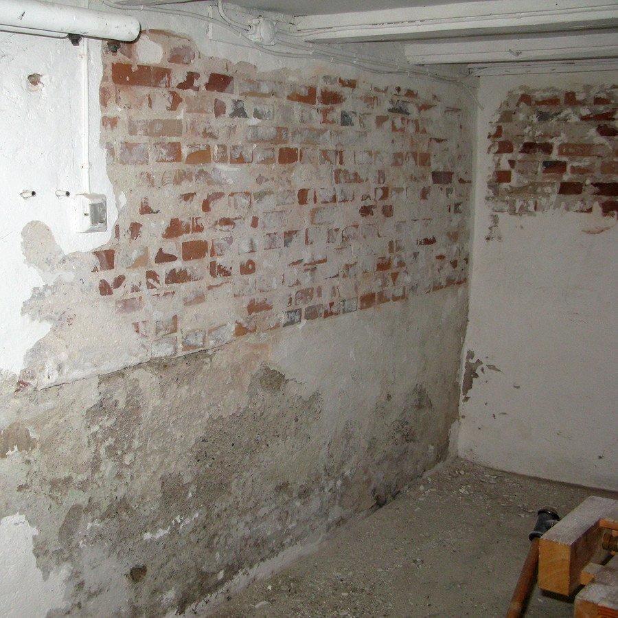 maling af kældervæg