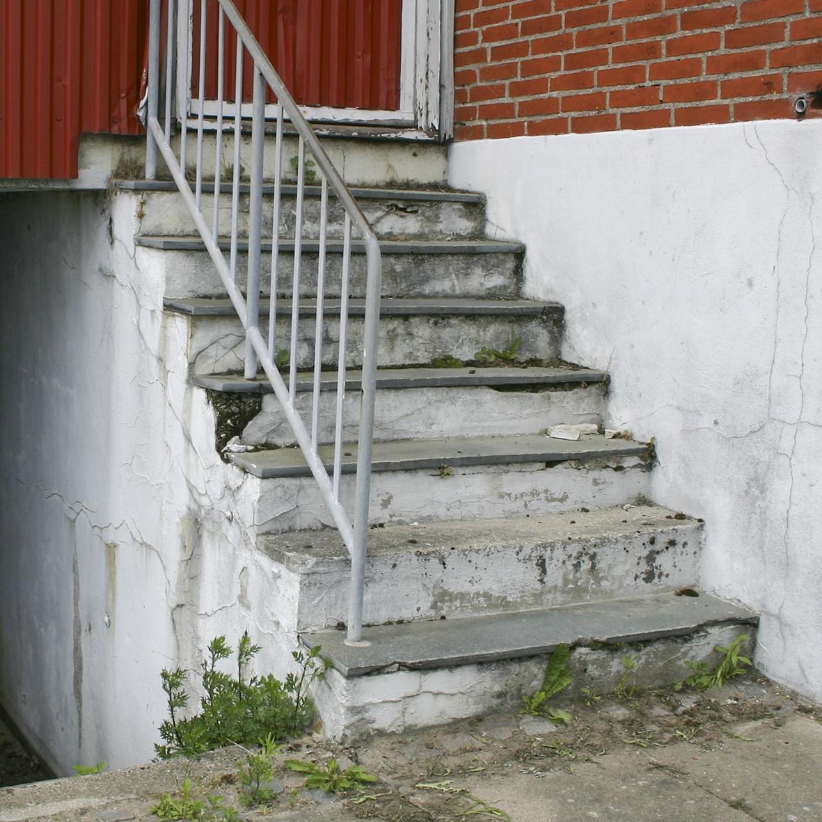 Trappe Med Flisetrin Skalflex Facadebehandling Skalflex Dk